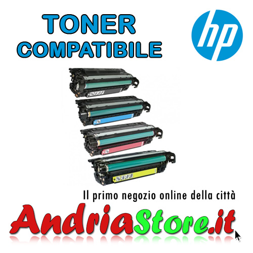CE262A Toner compatibile Giallo 648A HP Color LaserJet, 11000cop