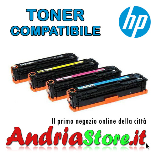 CE320A Toner Nero compatibile 128A HP Laserjet Color Pro, 2000co