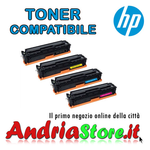 CE411A Toner Ciano compatibile 305A HP Laserjet Enterpise 2600co