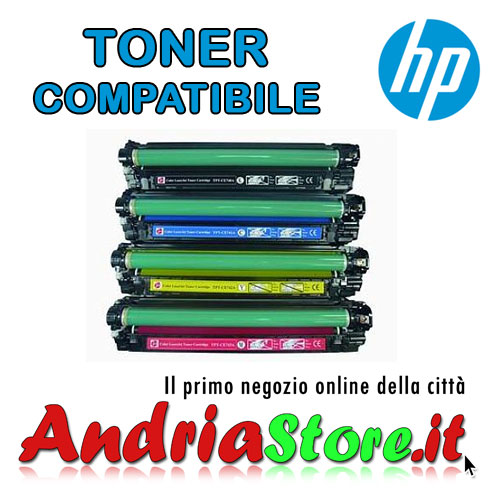 CE740A-BK Toner compatibile Nero 307A HP Color LaserJet 7000 cop