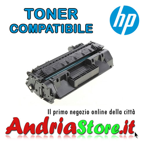 CF280X Toner compatibile XL per HP 80X Laserjet Pro, 6900 copie