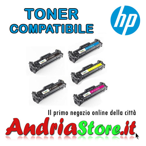 CF380X Toner Nero compatibile 312X XL HP AI-CF380A, 4400 copie