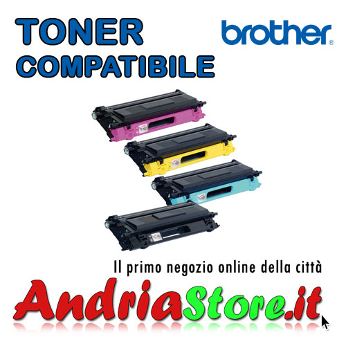 TN-135BK Toner compatibile per Brother Nero TN135BK, 5000 copie