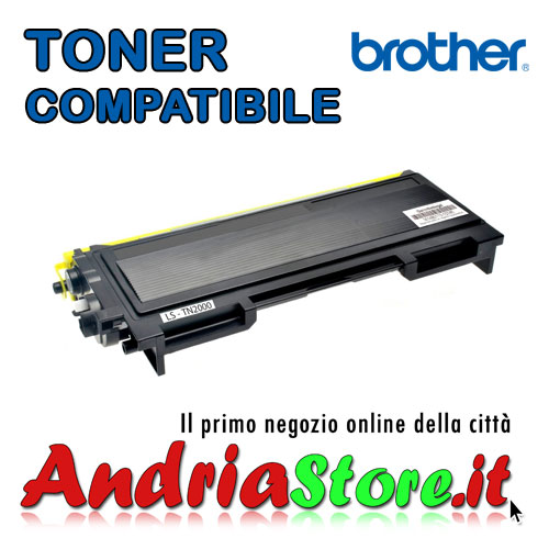 TN-2000 Toner compatibile per Brother TN 2000, 2600copie