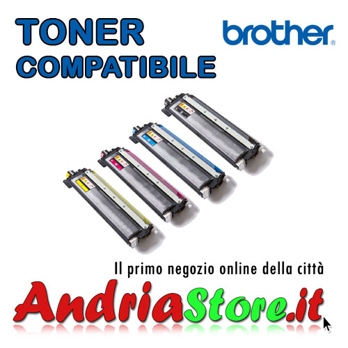TN-230BK Toner compatibile per Brother Nero TN230BK, 2200 copie
