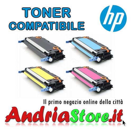 Q6470A Toner compatibile HP 501A Canon Nero LBP5300, 6000 copie
